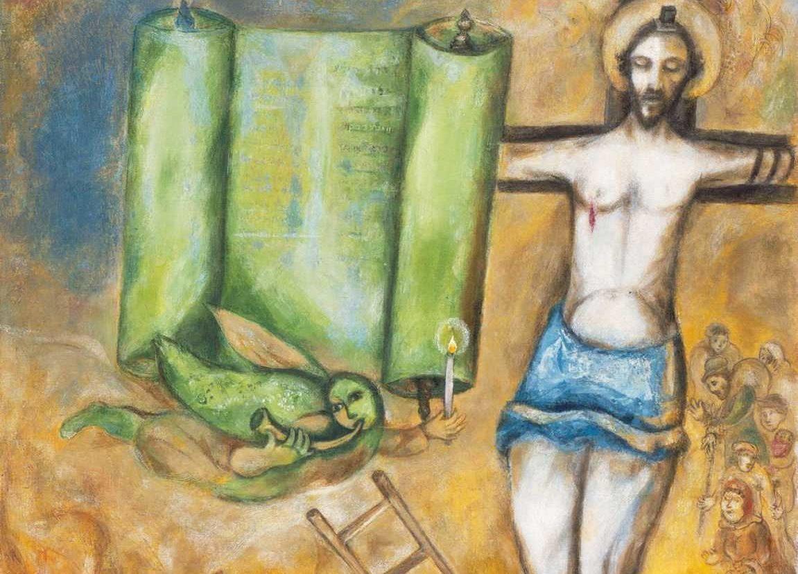ChagalllYellowCrucifixion